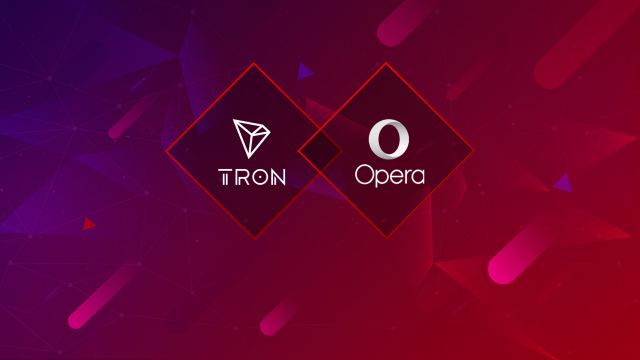 Opera Web Browser Includes TRON to its Native Crypto Wallet