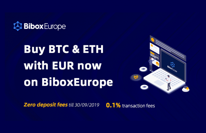 BiboxEurope Goes Live, Provides Free Deposits and Industry-Low Charges