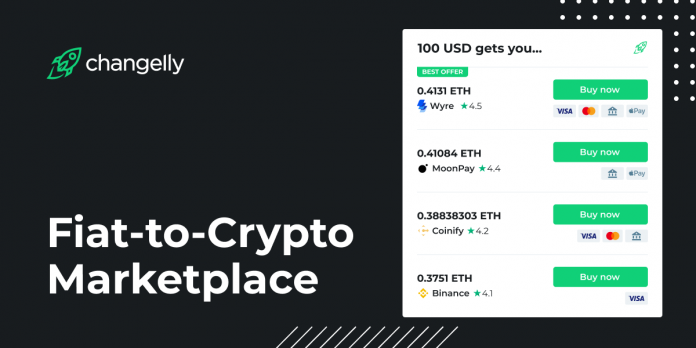 Changelly Launches New Market for Purchasing Cryptocurrency