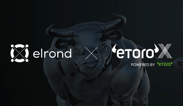 eToro Includes Elrond's eGold Token as Its Very First New Listing in Months