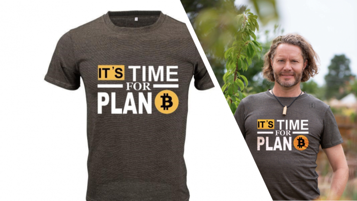 Recover Thyself with Leela Quantum Tech's 'Fallback' Bitcoin Edition Quantum Tee Shirt