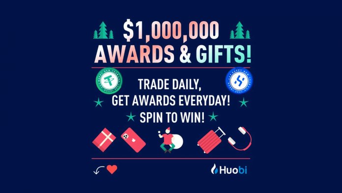 Huobi Invites New Year in Design, Provides Over $1 Million in Awards and Presents Free Gifts to its Users