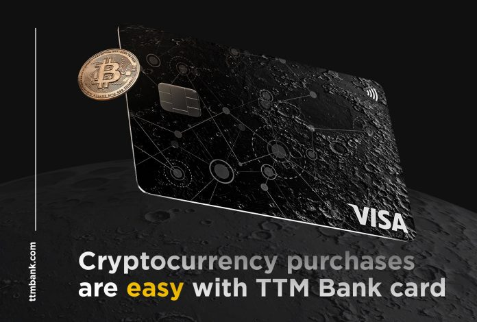 TTM Bank Launches Global Crypto Card