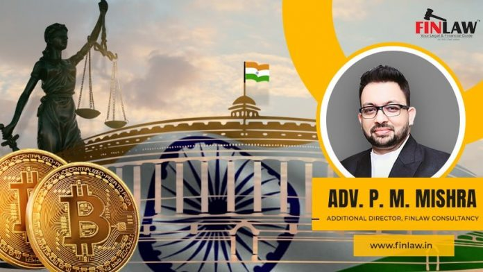 Finlaw Associates to Send Draft Cryptocurrency Guideline to Indian Govt as Neighborhood Demands for Clearness, Mr. Mishra Discusses