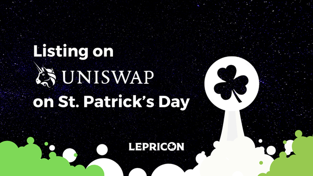 St. Patrick's Day is Uniswap Day for Video Gaming Start-up, Lepricon