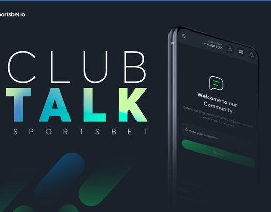 Sportsbet.io Continues Neighborhood Development with New Club Talk Function