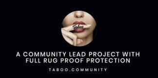 Taboo: A New Deflationary Token with NFT Platform Assistance