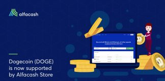 Dogecoin (DOGE) Is Now Supported by Alfacash Shop