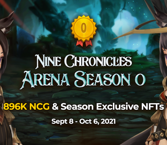 Decentralized Role-Playing Video Game 9 Chronicles Introduces Arena Season 0
